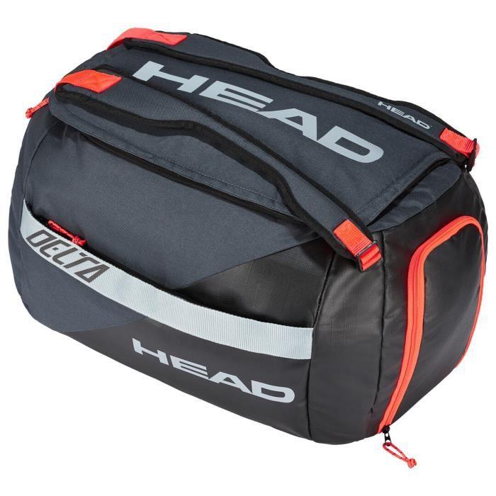 Sac Head Delta Sport Bag Padel Black Orange - Couleur:Orange Type Thermobag:Sac de sport