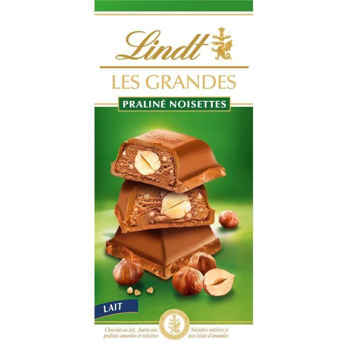 Chocolat au lait amandes 225g Lindt