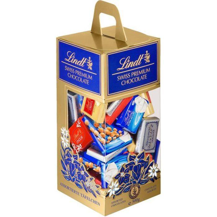 Confiserie de Chocolat Lindt Napolitains Assortis - Tubo 500G