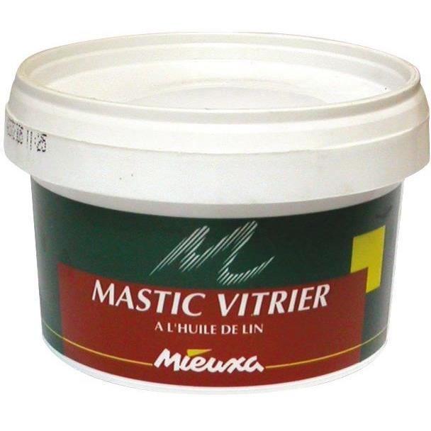 MIEUXA - Mastic vitrier 500g Beige