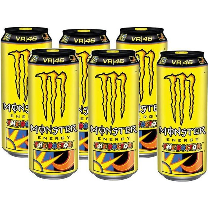 Monster The Doctor Rossi Edition Energy Drink 6 x 0,5l