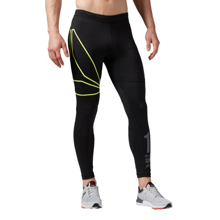 Collant long Reebok One Series Running Tight noir 262778,