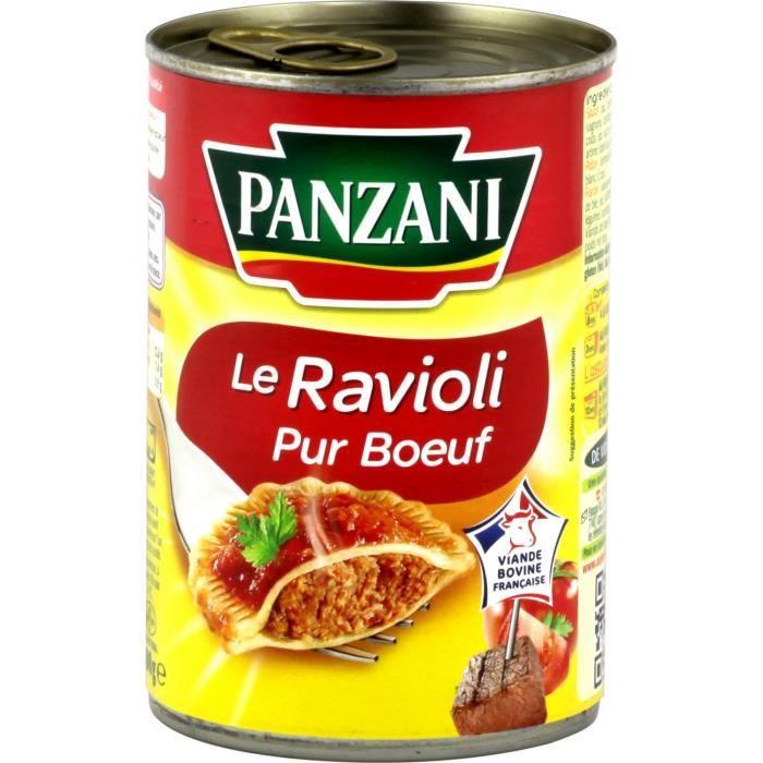 Ravioli pur bœuf 400g Panzani