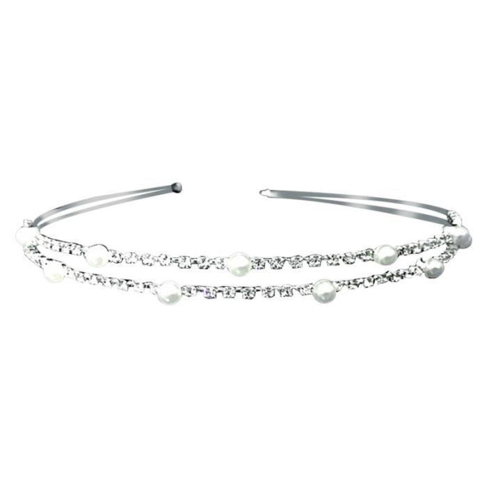 1 pc cerceau de élégant cristal Exquiste Diamante accessoires de bande de BANDEAU - SERRE-TETE - HEADBAND - HAIRBAND