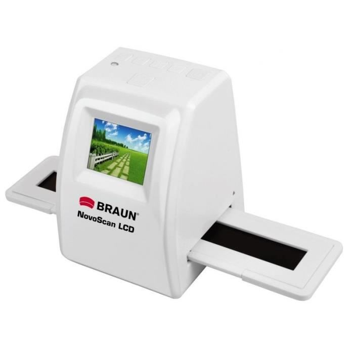 BRAUN Novoscan LCD Scanner Blanc - 34520