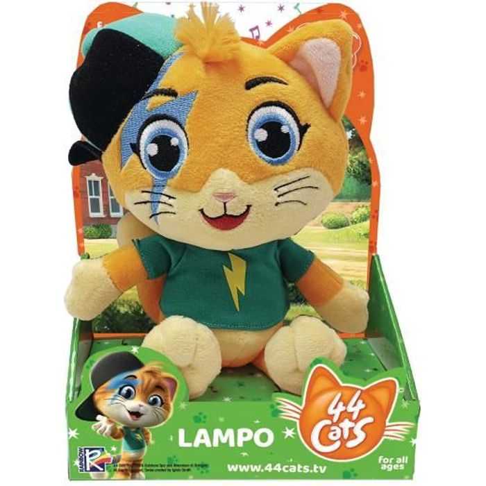 Peluche Musicale Lampo 44CATS - SMOBY