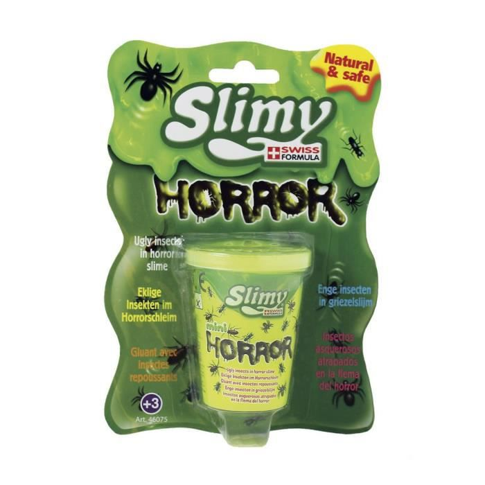 SPLASH TOYS Pâte Gluante Slimy -Horreur-