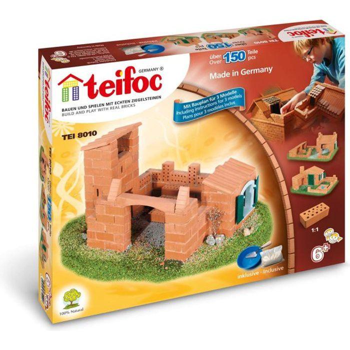 Teifoc - TEI8010 - Petit coffret , 3 plans