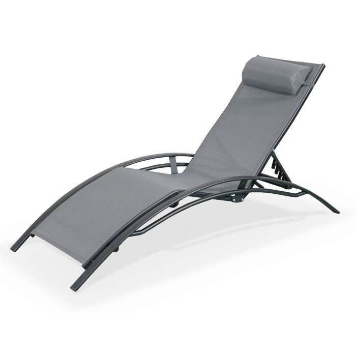 Double chaise lounge 2017 2018 best cars reviews for Transat chaise longue bain de soleil
