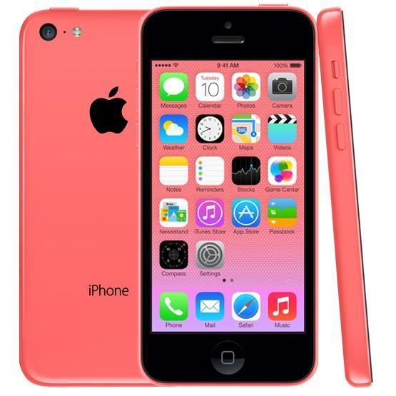 iphone 5c rose 16go occasion comme neuf achat smartphone. Black Bedroom Furniture Sets. Home Design Ideas