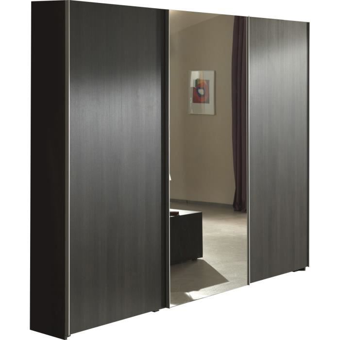 armoire 3 porte coulissante ch ne congo achat vente armoire de chambre armoire 3 porte. Black Bedroom Furniture Sets. Home Design Ideas