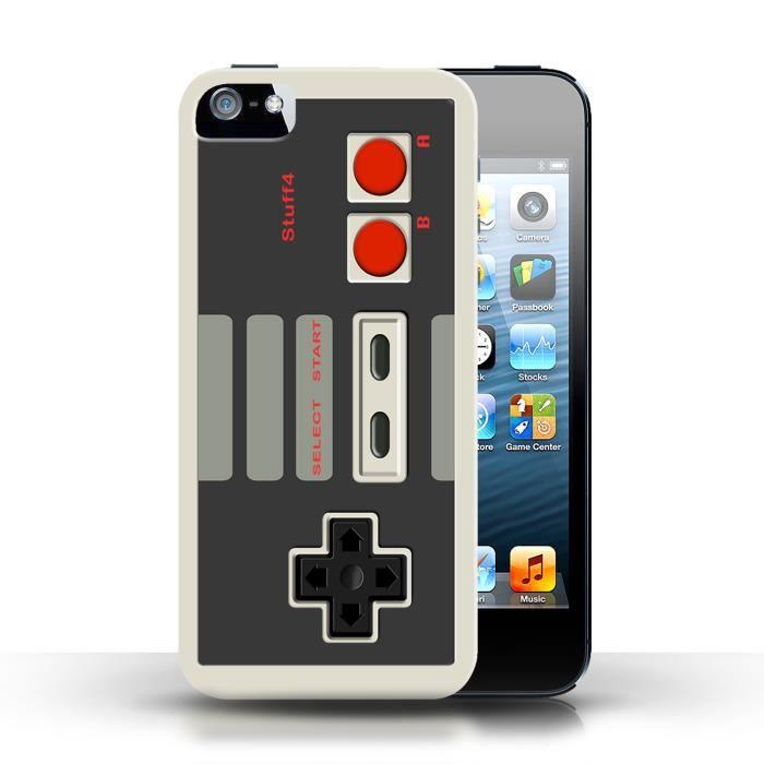 Coque Apple iPhone 5/5S / Nintendo Design / Consol