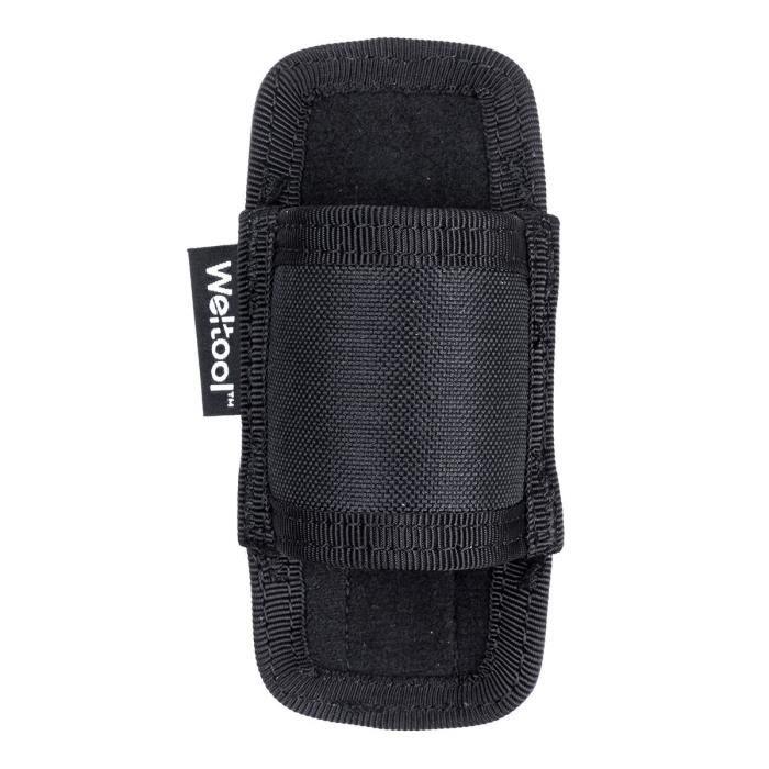 nylon lampe de poche torche étui porte-étui pochette sac avec boucle de