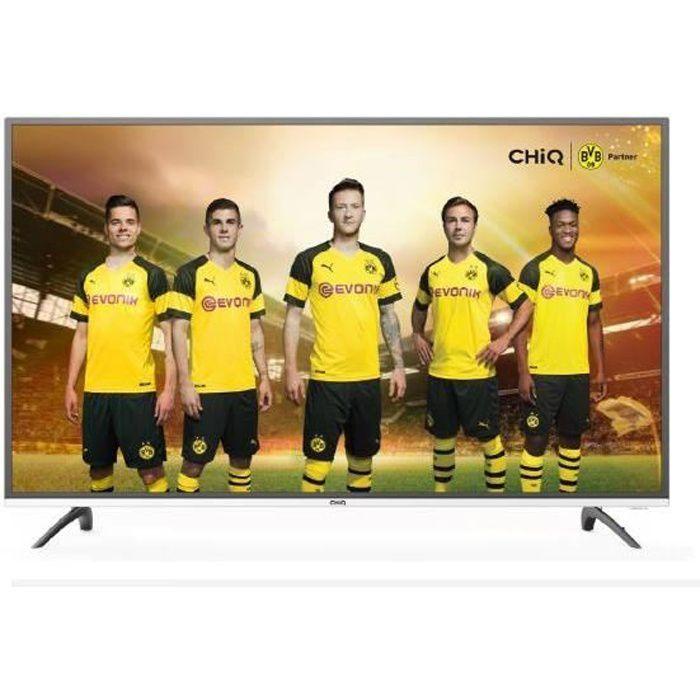 Téléviseur LED CHiQ U50E6000 Smart TV LED 50 '' UHD 4K HDR10 - HD
