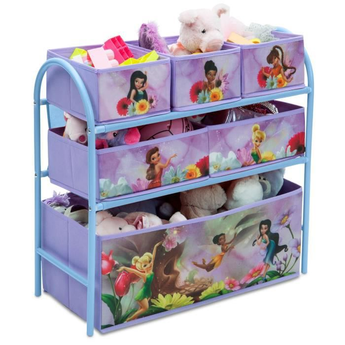 disney fairies meuble de rangement metal achat vente meuble classement fr meuble de. Black Bedroom Furniture Sets. Home Design Ideas