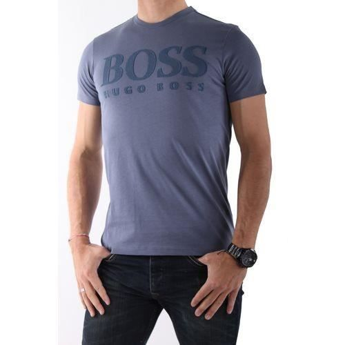 Hugo boss t shirt gris xxl vert achat vente t for Hugo boss polo shirts xxl