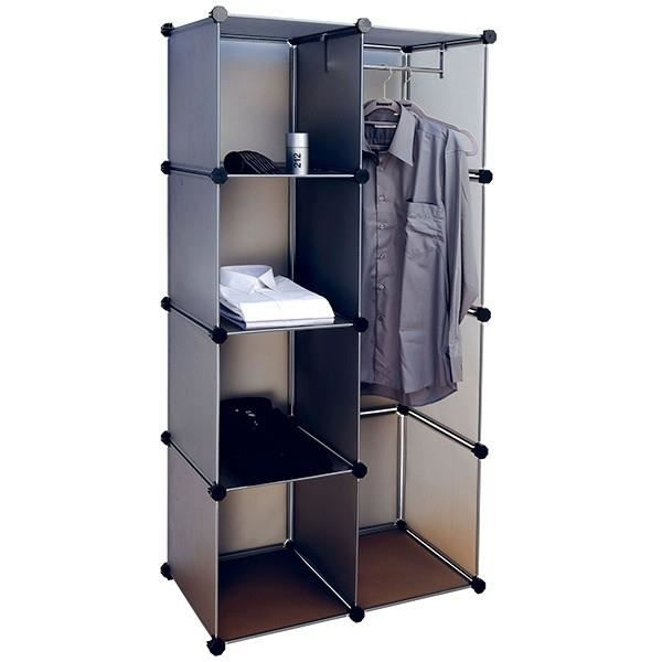 armoire de rangement modulable achat vente armoire de. Black Bedroom Furniture Sets. Home Design Ideas