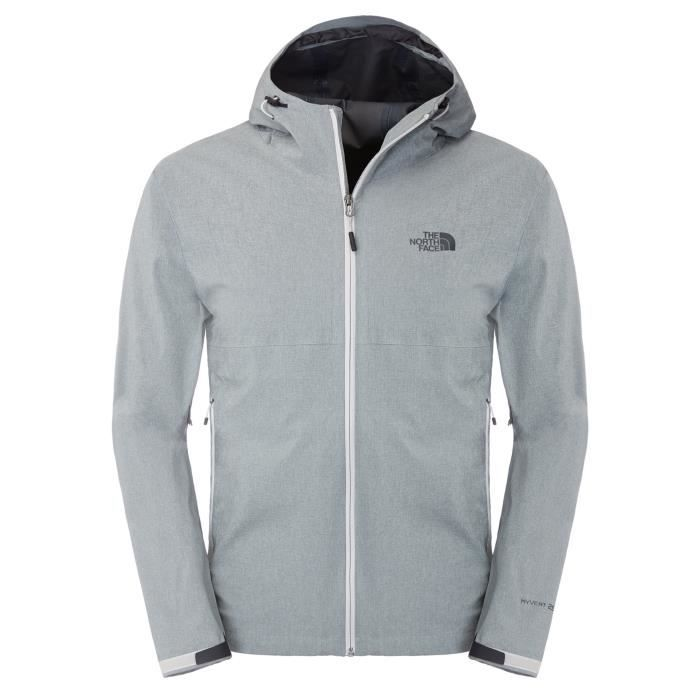 Great Jacket North Veste À Gris Achat Face Capuch M Falls The Txt74qn
