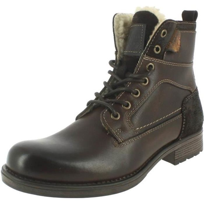 bottines boots homme mustang 610 610 4865 4865 3j5AR4L