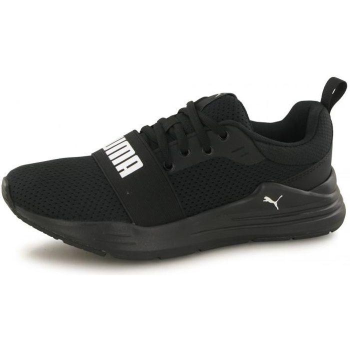 Baskets Puma Wired Run noir enfant