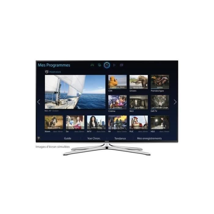 samsung ue40h6200 smart tv led full hd 3d 102cm 4 t l viseur led avis et prix pas cher. Black Bedroom Furniture Sets. Home Design Ideas
