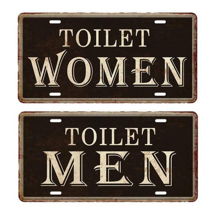 Affiche Toilette