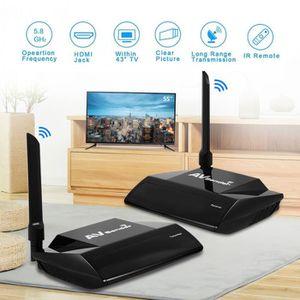 CÂBLE TV - VIDÉO - SON 300M 5.8GHz Sans Fil HDMI AV Sender Audio Vidéo Tr
