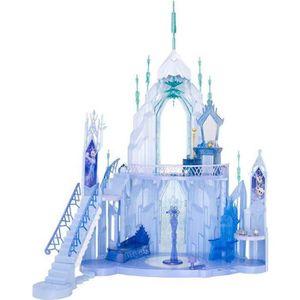 FIGURINE - PERSONNAGE La Reine des neiges diorama Château de Elsa