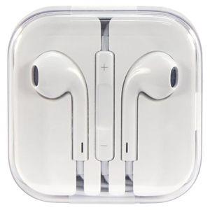 COQUE - BUMPER Ecouteurs blanc pour Apple iPhone Earpods avec tél