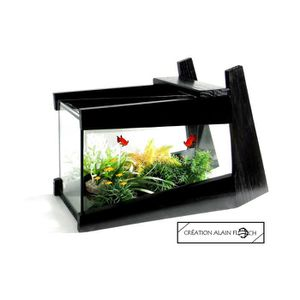 AQUARIUM AQUARIUM CREATION DESIGN ALAIN FLOCH -  NOIR 15 LE