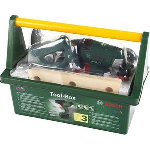 BRICOLAGE - ÉTABLI KLEIN - Caisse à outils Bosch avec visseuse électr