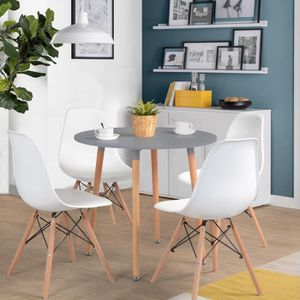 a manger gris a Table Table ronde gris Table ronde manger a WE29IbDHYe