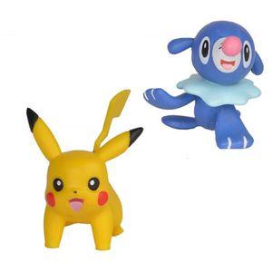 FIGURINE - PERSONNAGE POKEMON - Pack de 2 figurines 5 cm Pikachu et Otaq
