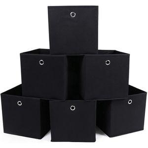 BAC DE RANGEMENT OUTILS ChangM Lot de 6 Boîtes Tiroirs en Tissu Cube de Ra