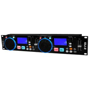PLATINE DJ IBIZA SOUND IDJ2 Double controleur USB/SD avec scr
