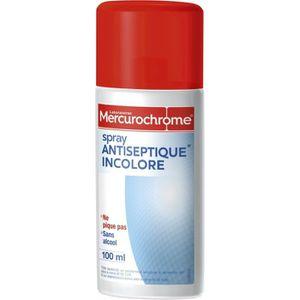 DÉSINFECTANT Mercurochrome Spray antiseptique incolore 100ml
