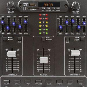 TABLE DE MIXAGE Skytec 172982 Table de mixage 4 canaux avec effets