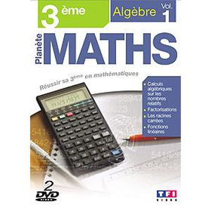 DVD DOCUMENTAIRE DVD Planete maths : 3eme algebre