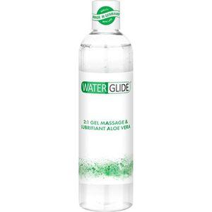 LUBRIFIANT Gel Massage Lubrifiant 2-en-1 Waterglide Aloe Vera
