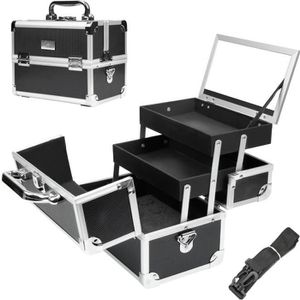 VALISE - BAGAGE Yorbay Mallette Maquillage Beauty Case Valise Maqu