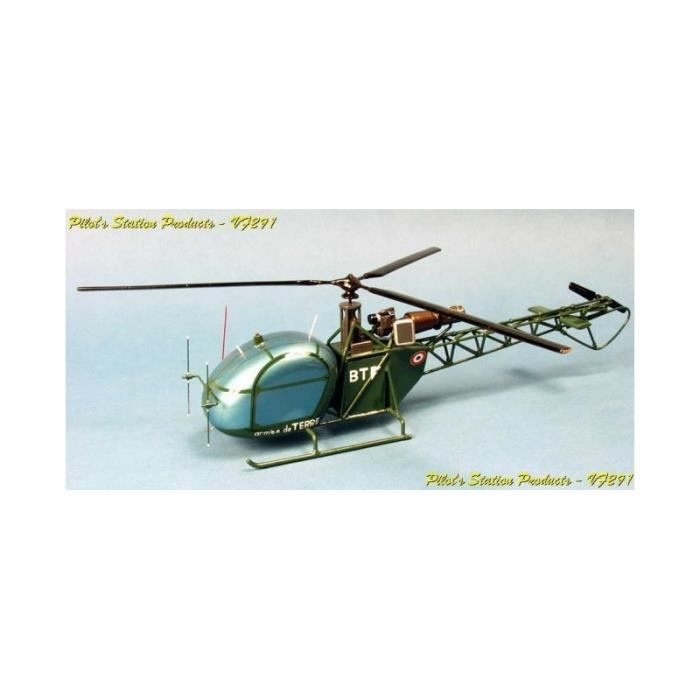 maquette helicoptere - AS313 Alouette II
