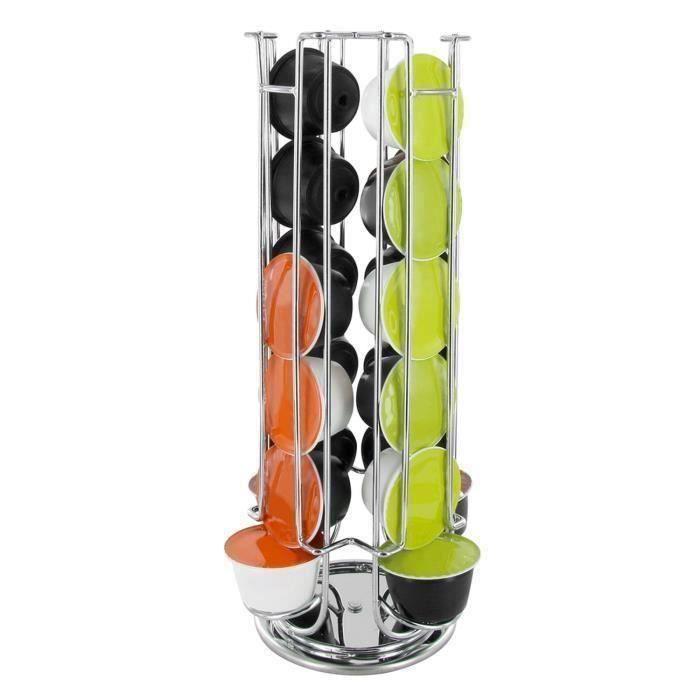 Porte capsules rotatif Dolce Gusto - 24 Capsules Pr17752