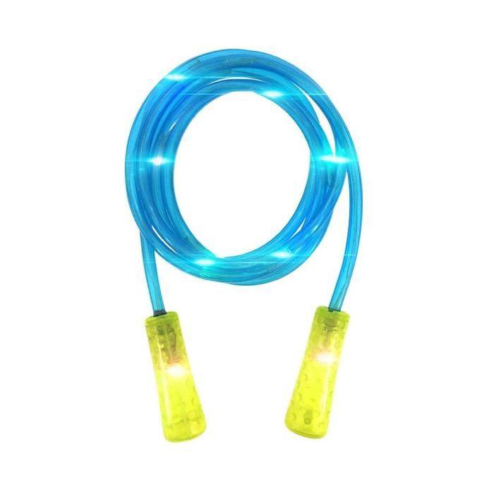 Accessoires Fitness - Musculation,Enfants adulte Fitness sauter Sport LED clignotant lumière corde à sauter corde à sauter - Type 1
