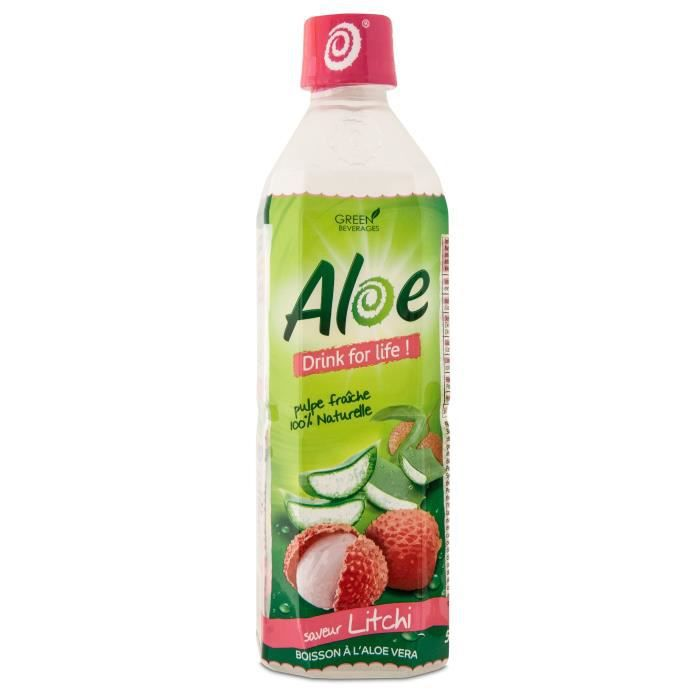 ALOE DRINK FOR LIFE Litchi Pet 50 CL