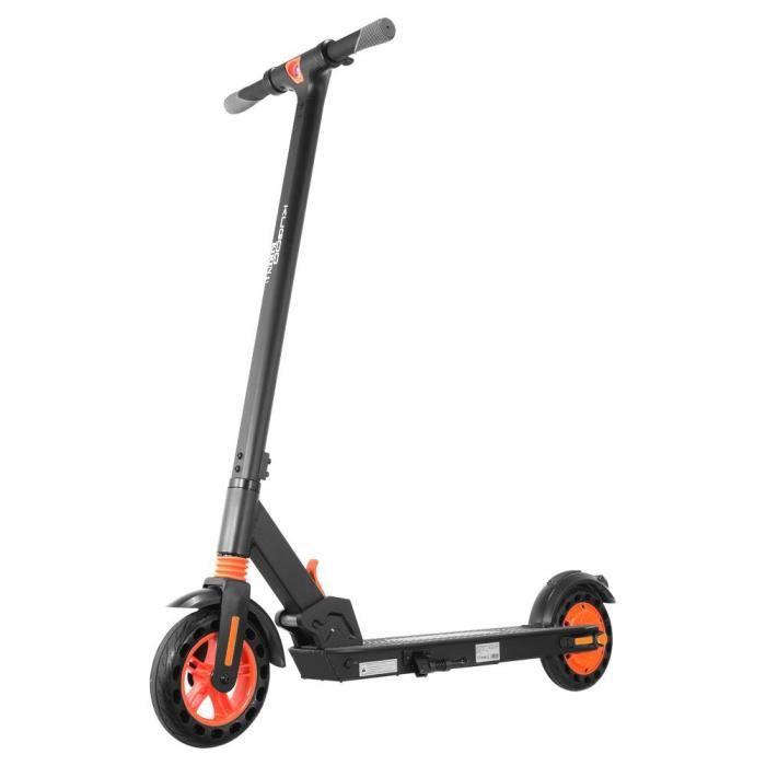 Trottinette électrique KUGOO S1 scooter electrique Moteur 350W 8-Larges roues increvables 6Ah 25KM écran LED APP Bluetooth