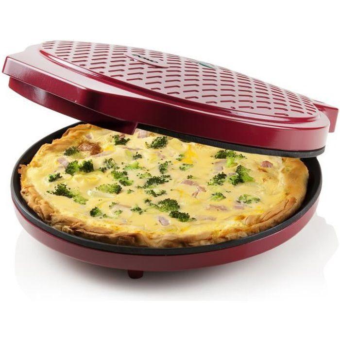 DOMO DO9177PZ Four à pizza électrique - Rouge