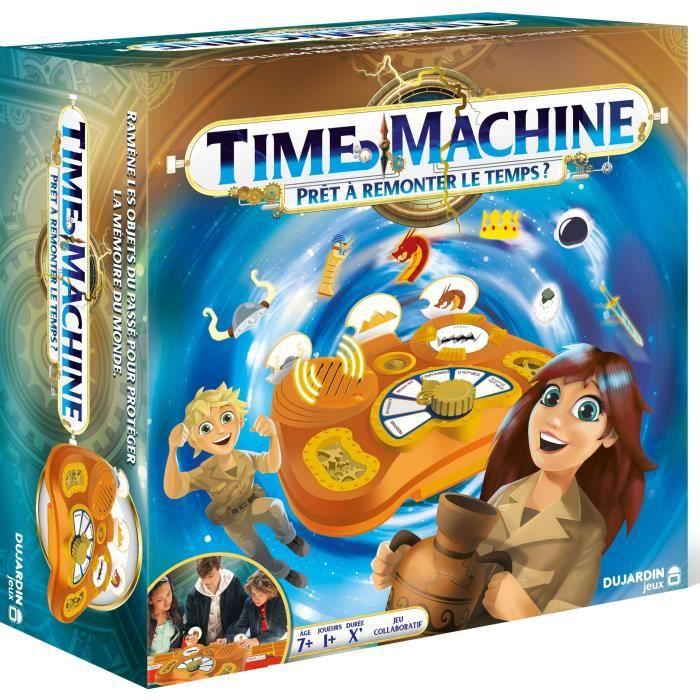 DUJARDIN - TIME MACHINE, PRÊT À REMONTER LE TEMPS ? - jeu de société