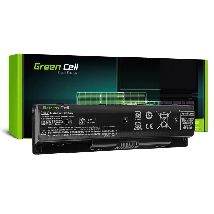 Batterie Green Cell® pour HP Envy 17-J188SF 17-J190EZ 17-J199EZ M7-J020DX 4400mAh