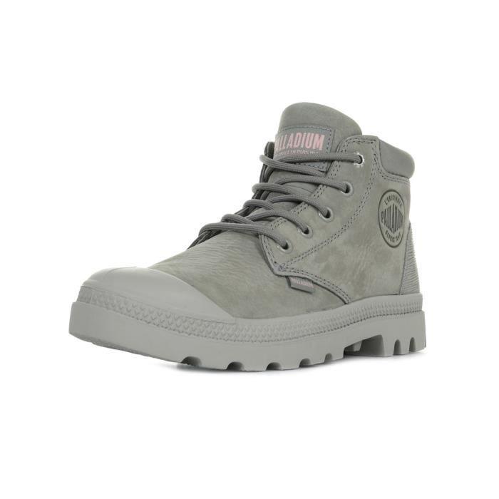 Boots Palladium Pampa Low Cuf Lea Moonrock
