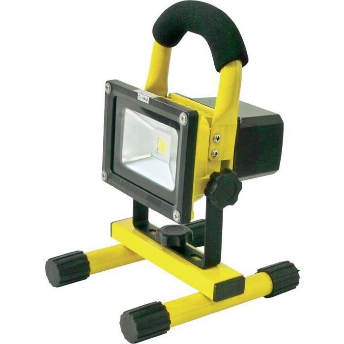 Projecteur LED sur batterie rechargeable 12/24/230 V Profi Power